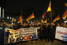 MANIFESTATIONS ANTI-IMMIGRATION ET CONTRE-MANIFESTATIONS EN ALLEMAGNE